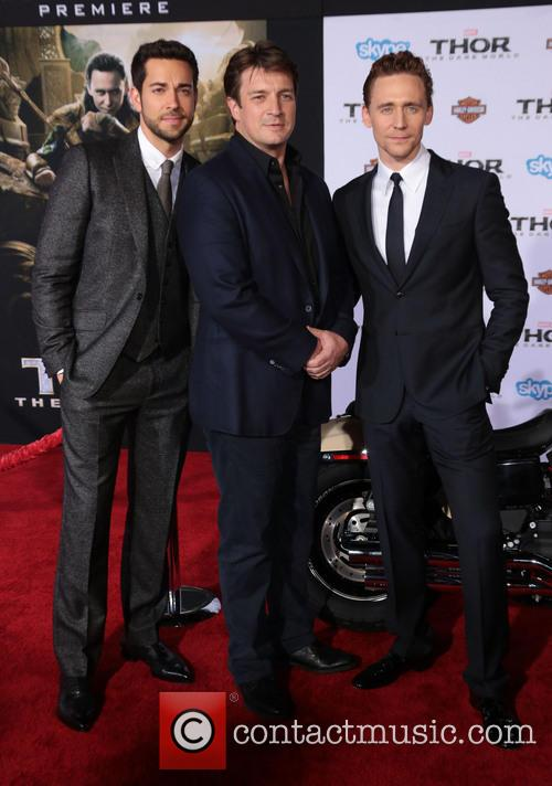 Zachary Levi, Nathan Fillion and Tom Hiddleston 11