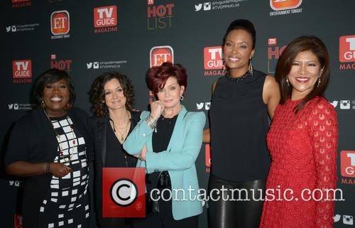 Sheryl Underwood, Sara Gilbert, Sharon Osbourne, Aisha Tyler and Julie Chen 2