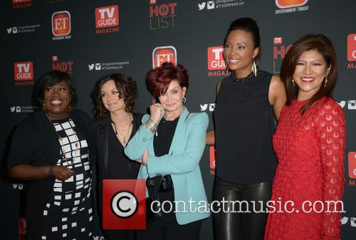 Sharon Osbourne, Sara Gilbert, Sheryl Underwood, Aisha Tyler and Julie Chen 9