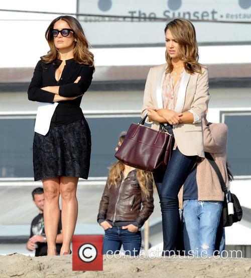 Jessica Alba and Salma Hayek 3