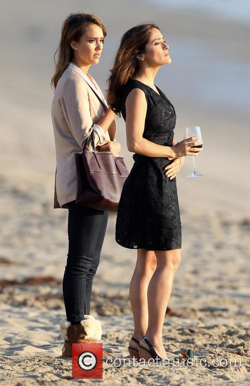 Jessica Alba and Salma Hayek 4