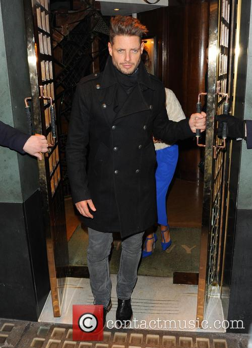 Boyzone Leaving The Ivy Restaurant