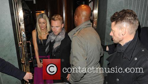 Storm Uechtritz, Ronan Keating and Keith Duffy 5