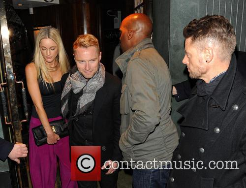 Storm Uechtritz, Ronan Keating and Keith Duffy 7
