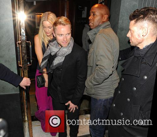 Storm Uechtritz, Ronan Keating and Keith Duffy 9