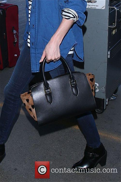 Kate Bosworth leaves LAX