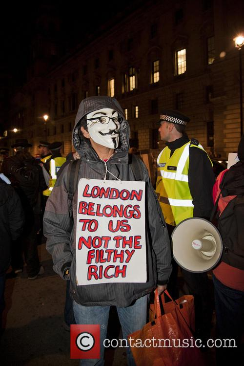 Anti-Austerity Protest In Central London