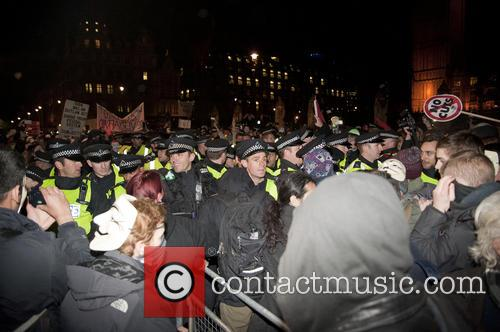 Protesters and Police 2