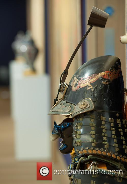 Samurai armour at Bonhams