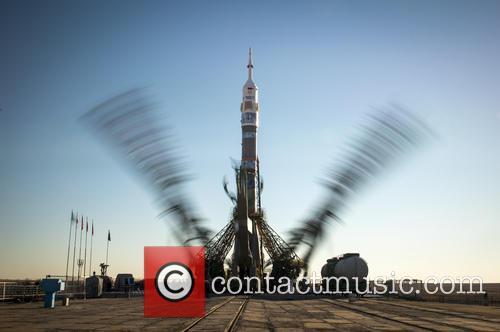 The Soyuz TMA-11M rocket