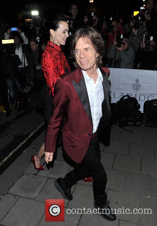 Mick Jagger and L'wren Wren 3