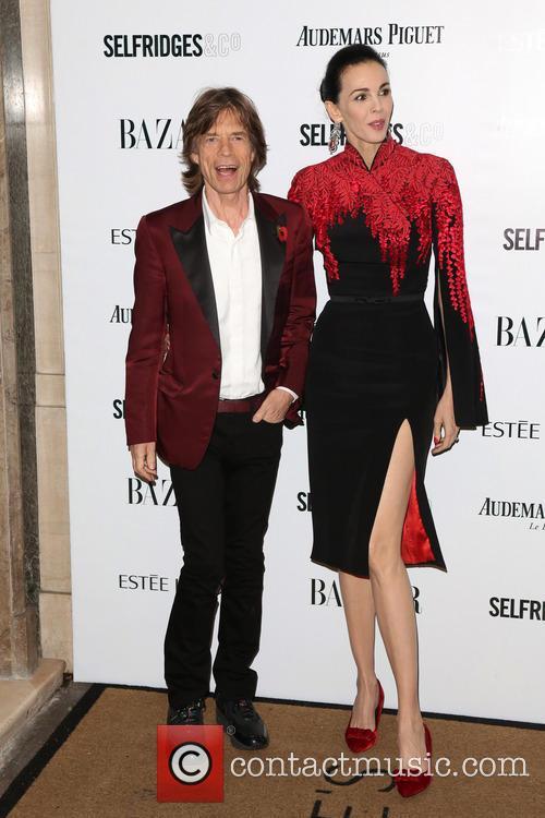 Mick Jagger and L'wren Scott 7