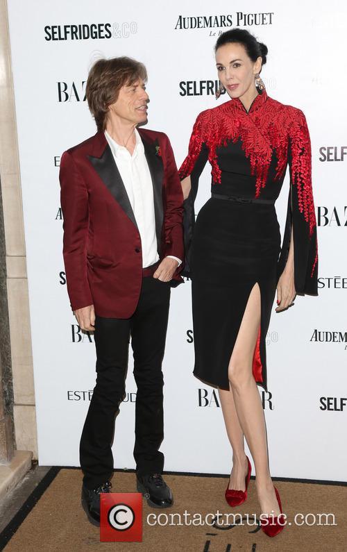 Mick Jagger and L'wren Scott 8
