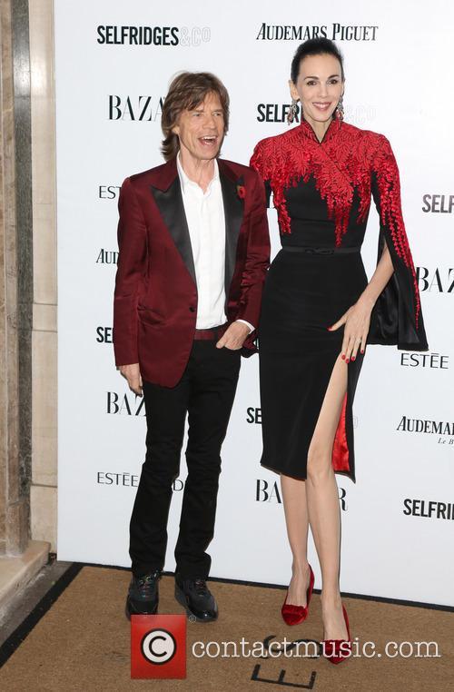 Mick Jagger and L'wren Scott 9
