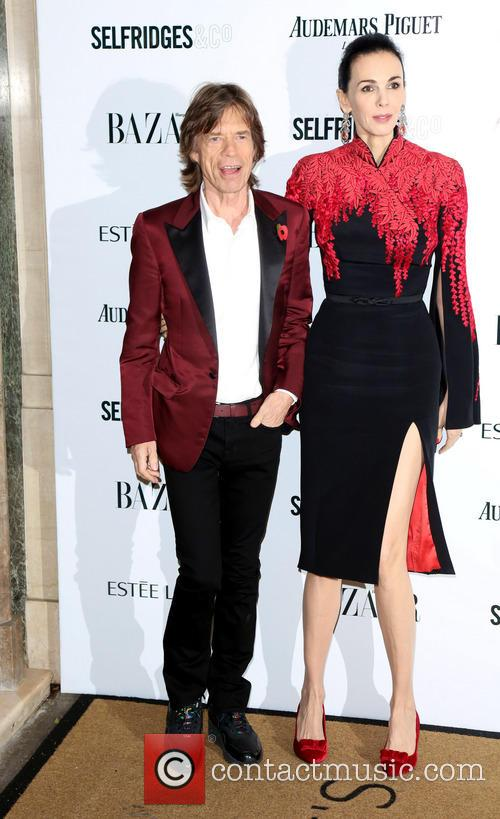 Mick Jagger and L'wren Scott 10