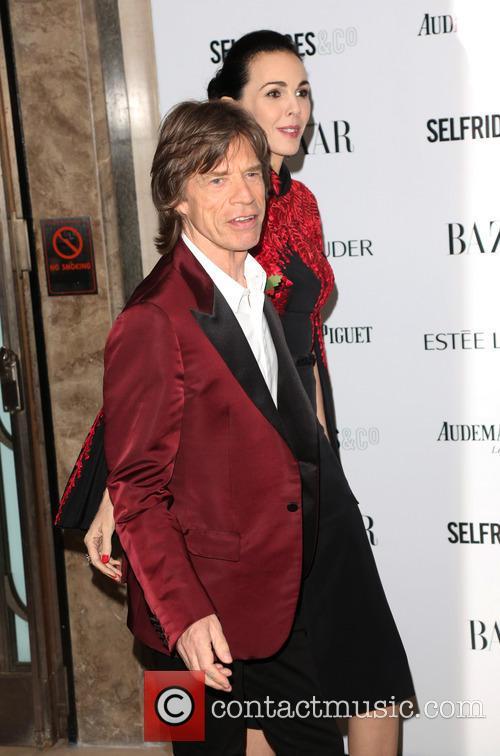 Mick Jagger and L'wren Scott 11