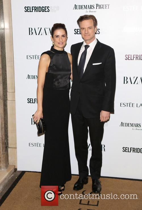 Livia Firth and Colin Firth 3