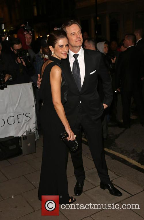 Livia Firth and Colin Firth 1