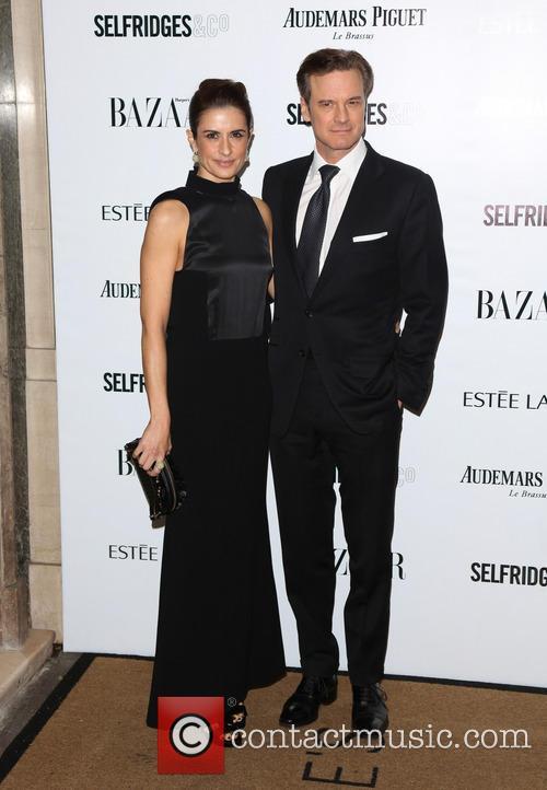 Livia Firth and Colin Firth 8
