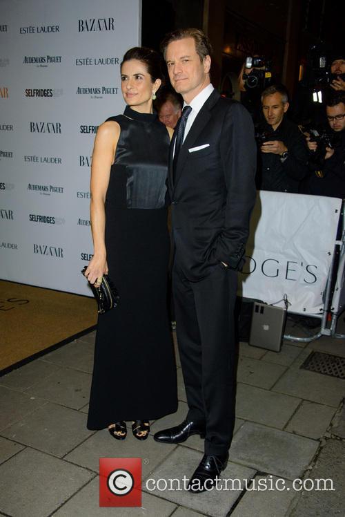 Livia and Colin Firth 1