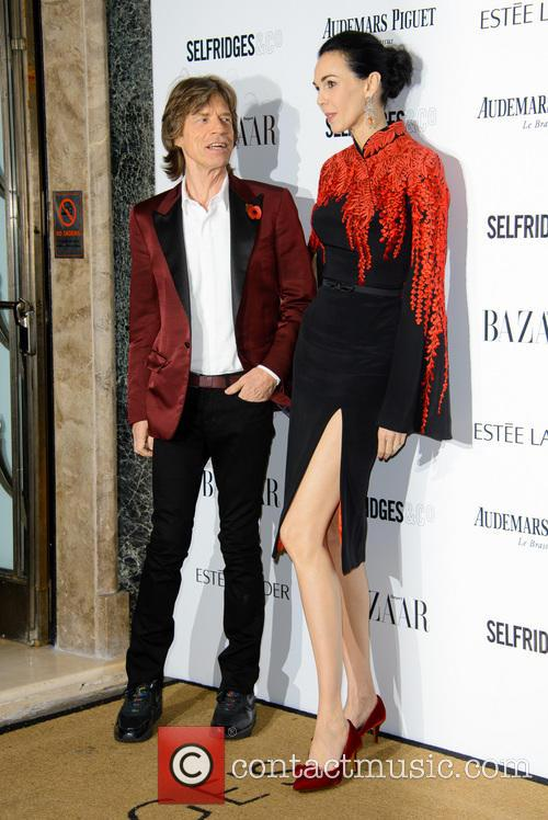 Sir Mick Jagger and L'wren Scott 5