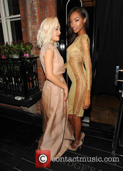 Rita Ora and Jourdan Dunn 6