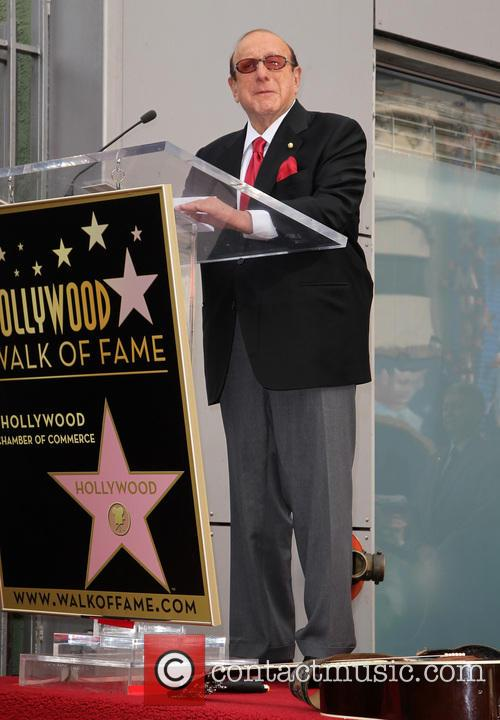 Clive Davis, On The Hollywood Walk Of Fame, Walk Of Fame