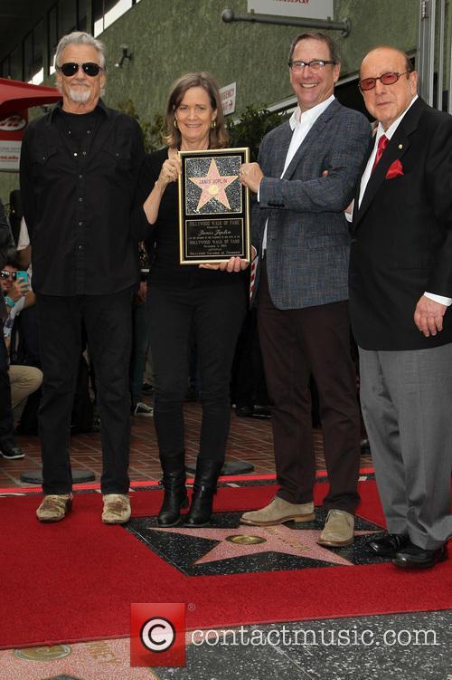 Kris Kristofferson, Laura Joplin, Michael Joplin and Clive Davis 10