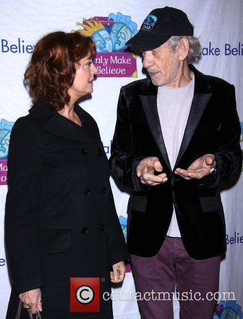 Susan Sarandon and Ian Mckellen 7