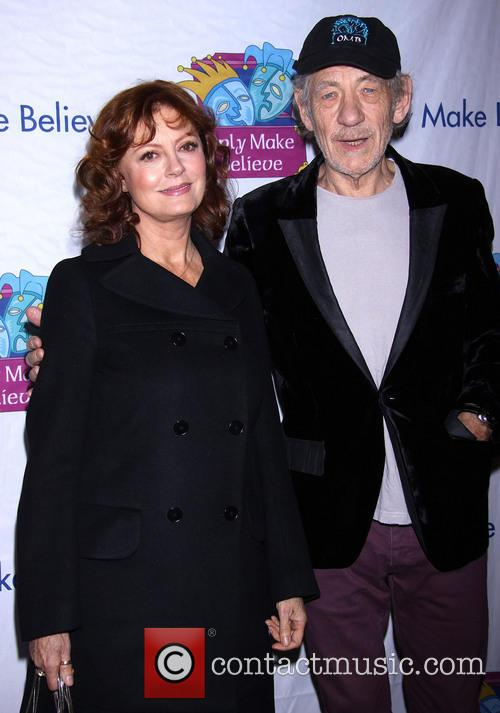 Susan Sarandon and Ian Mckellen 8