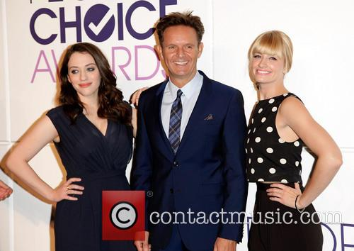 Kat Dennings, Mark Burnett and Beth Behrs 3