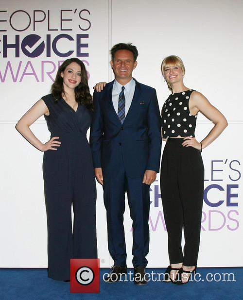 Kat Dennings, Mark Burnett and Beth Behrs 4