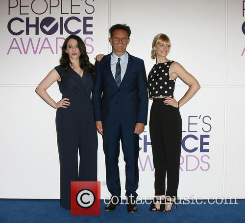 Kat Dennings, Mark Burnett and Beth Behrs 5