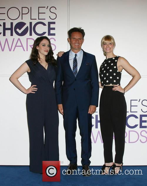 Kat Dennings, Mark Burnett and Beth Behrs 6