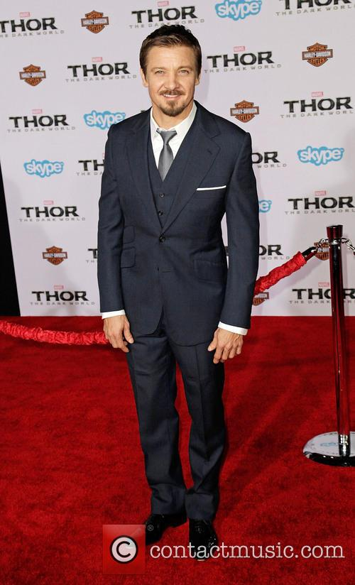 jeremy renner premiere of marvels thor the 3936264