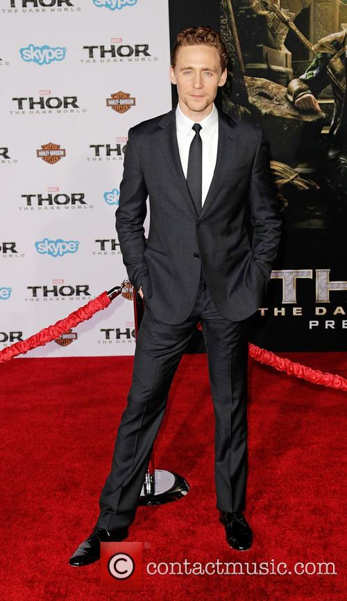 Tom Hiddleston, Thor: The Dark World Premiere