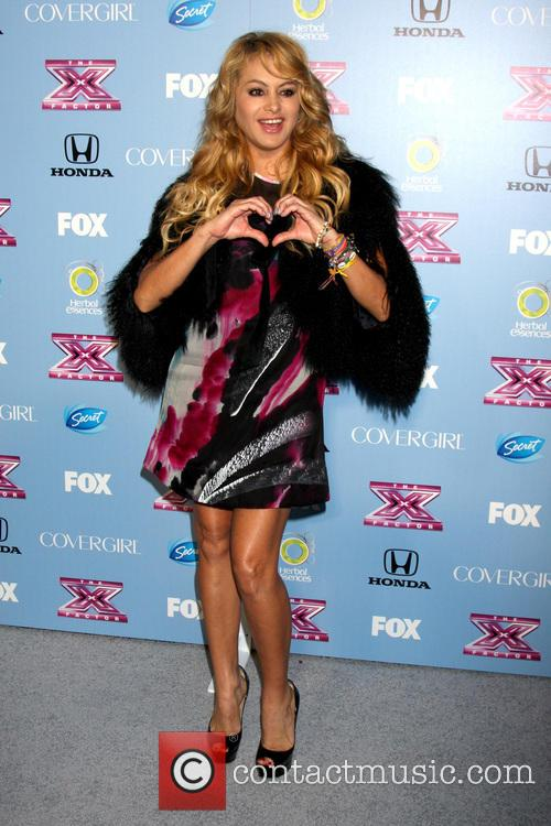paulina rubio x factor top 12 party 3936315