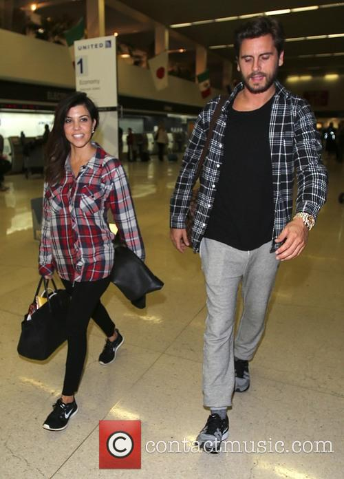 Kourtney Kardashian and Scott Disick 4