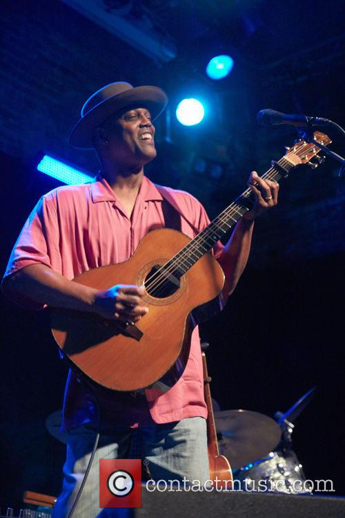 Eric Bibb performs live at The Brook
