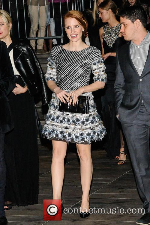 jessica chastain an evening honoring karl lagerfeld 3939665