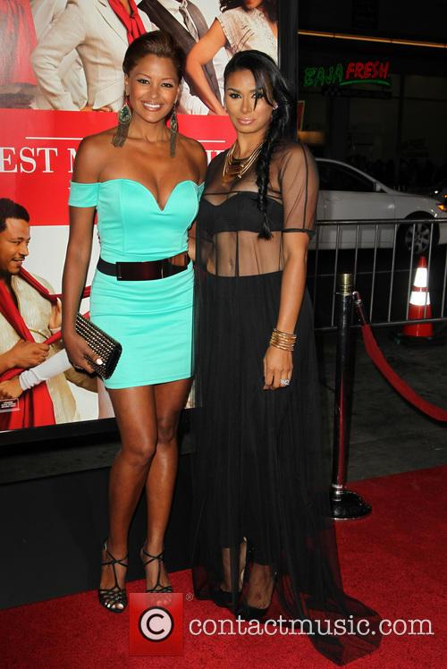 Claudia Jordan and Laura Govan 5