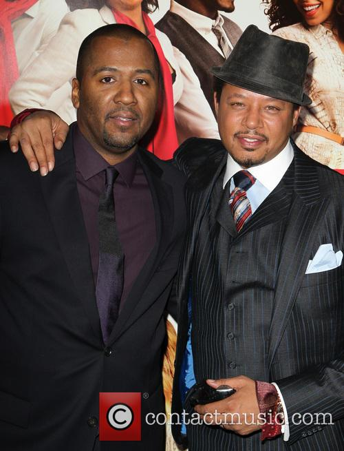 Malcolm D. Lee, Terrence Howard, The Best Man Holiday Premiere