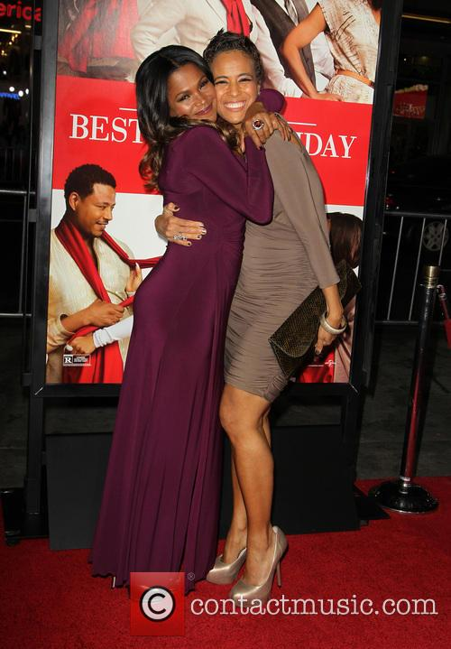 Nia Long and Daphne Wayans 2