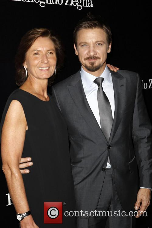 Jeremy Renner and Anna Zegna 2