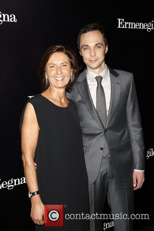 Anna Zegna and Jim Parsons 6
