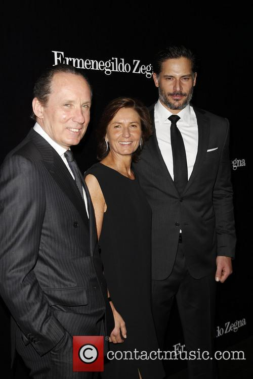 Gildo Zegna, Anna Zegna and Joe Manganiello 2