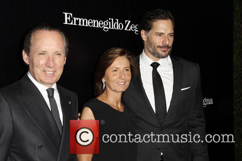 Gildo Zegna, Anna Zegna and Joe Manganiello 5