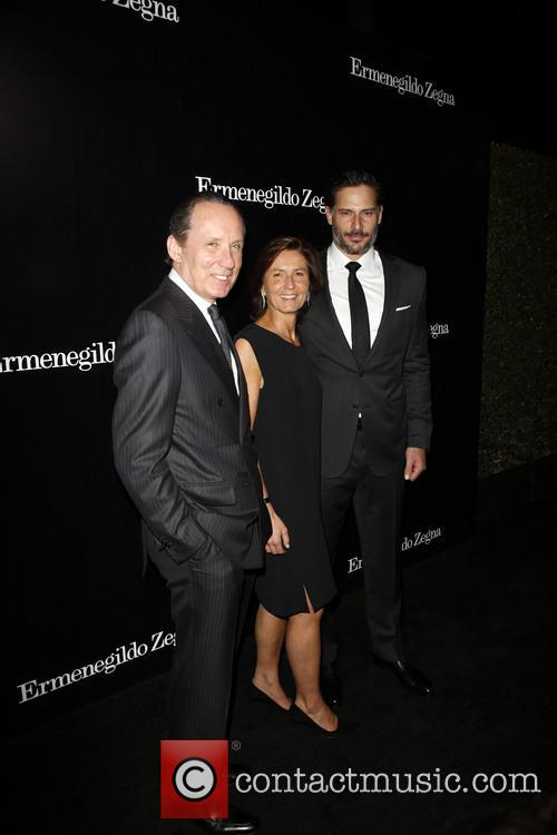 Gildo Zegna, Anna Zegna and Joe Manganiello 6