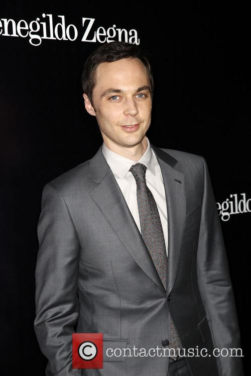 Jim Parsons, Ermenegildo Zegna Boutique on Rodeo Drive in Beverly Hills