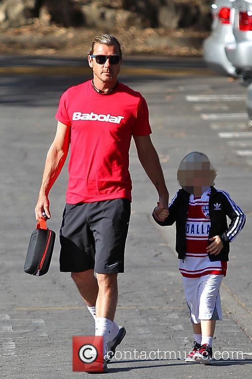 Gavin Rossdale and Zuma Rossdale 5